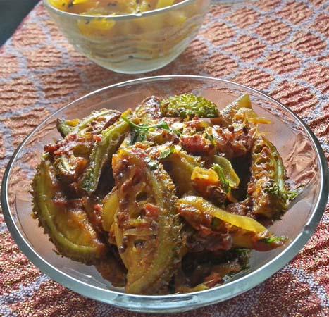 Boda Kakarakaya Kura recipe