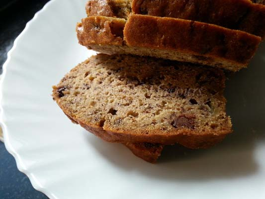 Banana Chocolate Chip Loaf recipe
