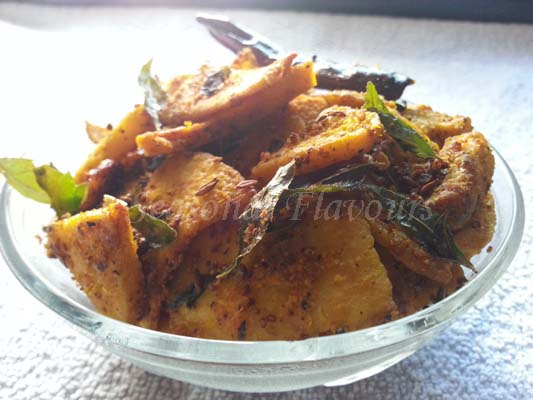 Spicy Elephant Foot Yam Fry Recipe