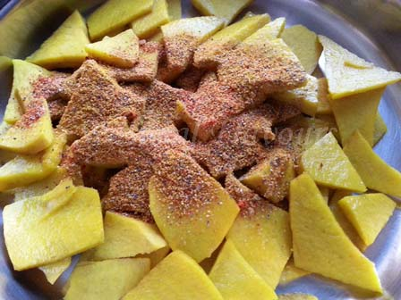 Spices for elephant yam fry recipe