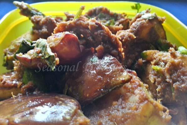 Andhra Vankaya Vepudu Recipe