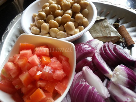 Channa Pulao Recipe Ingredients