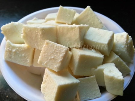 Paneer - Indian Cottage Cheese for dry paneer recipe