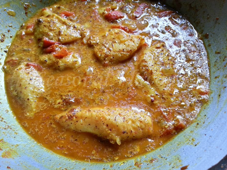 Fish in mustard sauce recipe