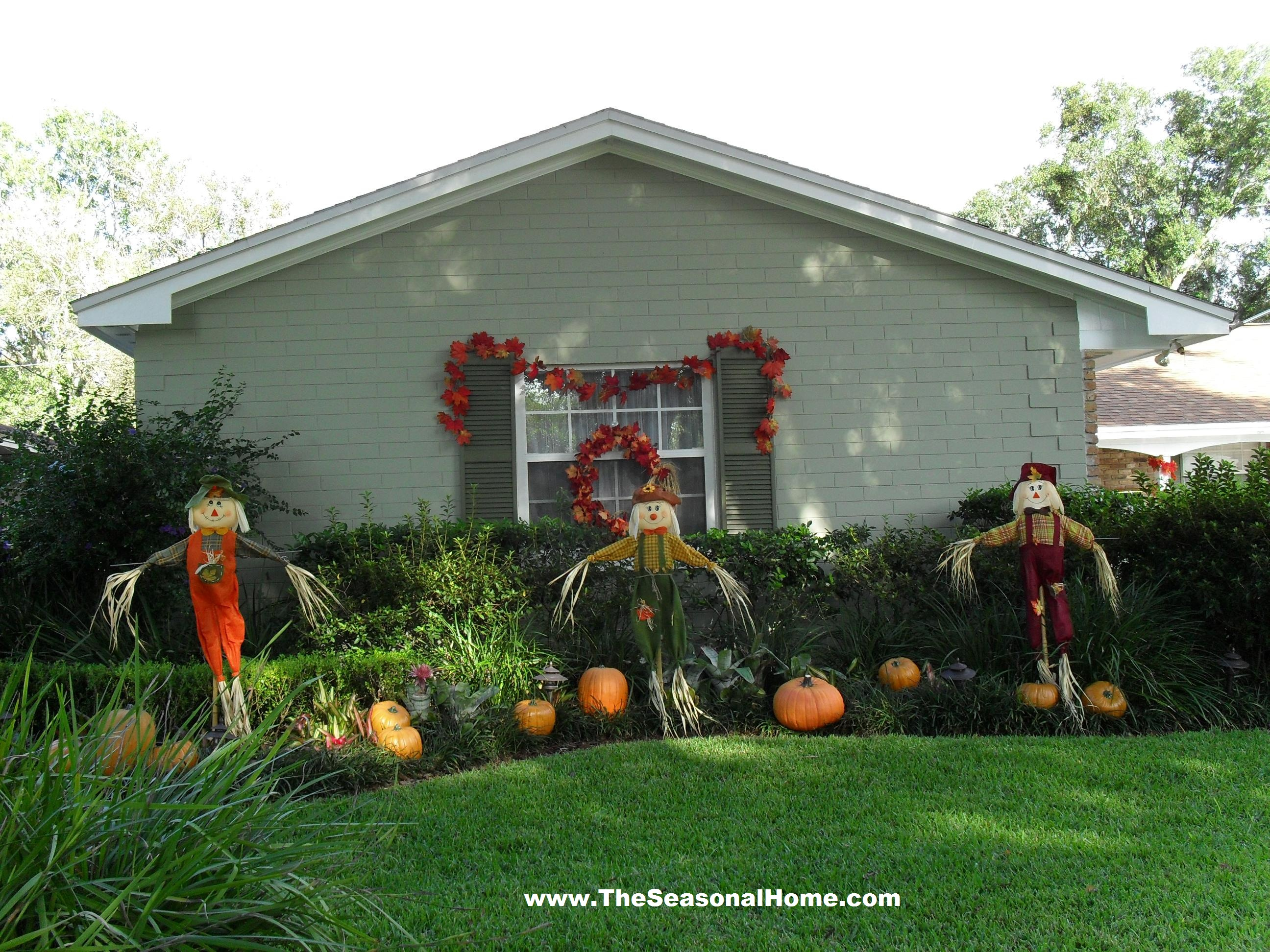 FALL YARD DECORATION IDEAS « The Seasonal Home on Lawn Decorating Ideas id=39041
