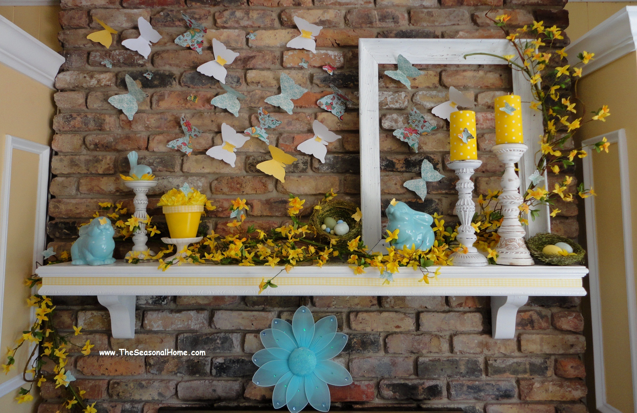 Using Paper Products To Help Decorate Your Fireplace For