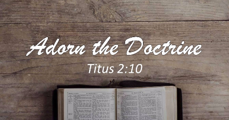 Image result for Titus 2:10