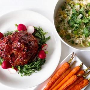 Easter Dinner Roasted Carrots