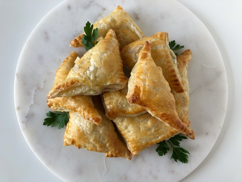 Artichoke & Asiago Turnovers