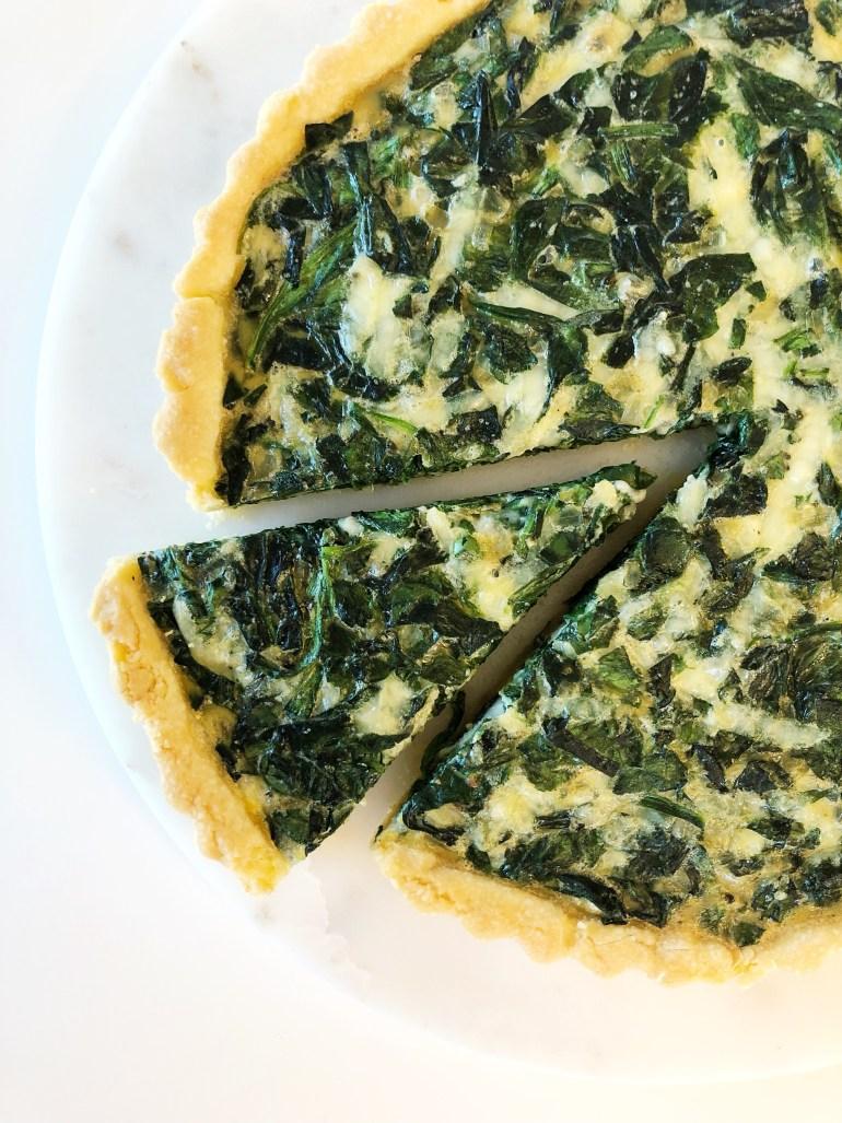 Quiche Florentine - Season and Serve Blog