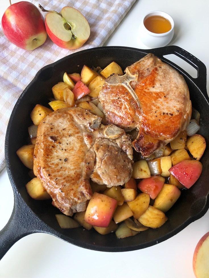Apple Cider & Honey Pork Chops - Season & Serve Blog
