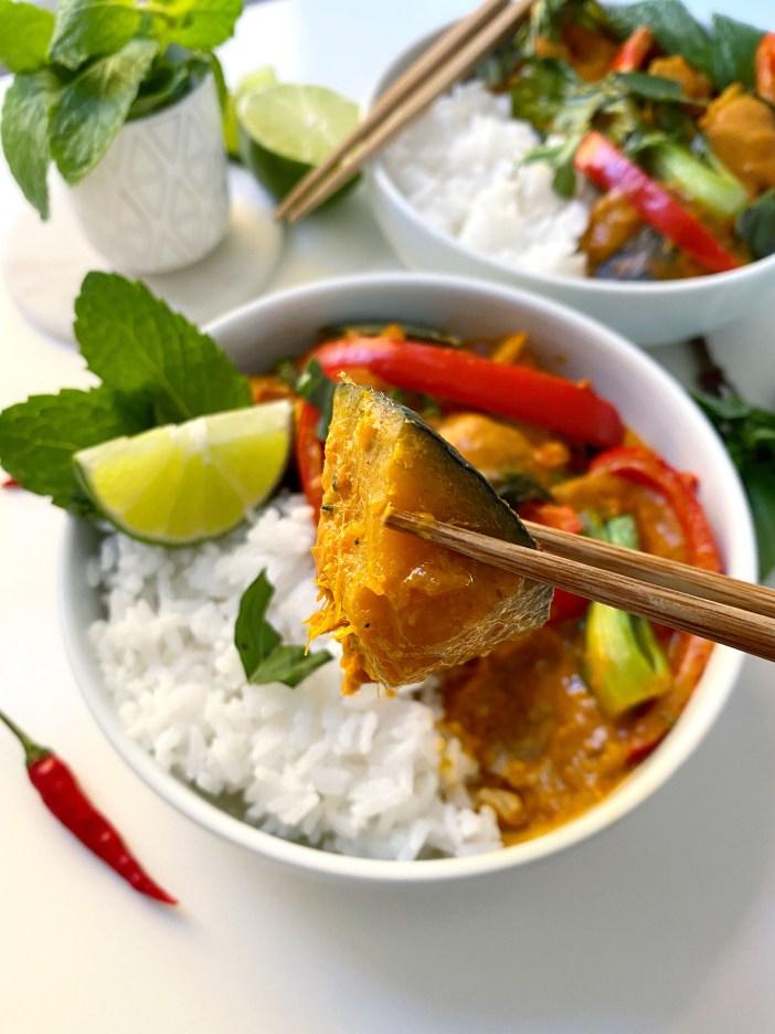 Vegan Kabocha Squash Curry - Season and Serve Blog