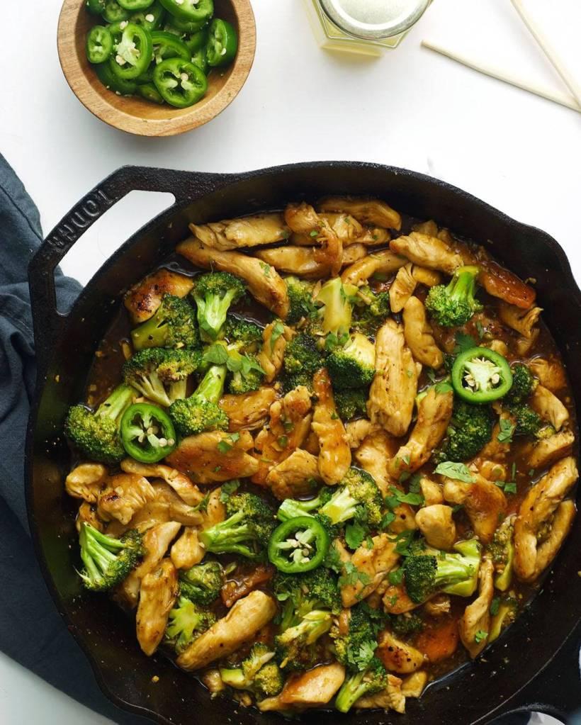 honey jalapeño chicken & broccoli