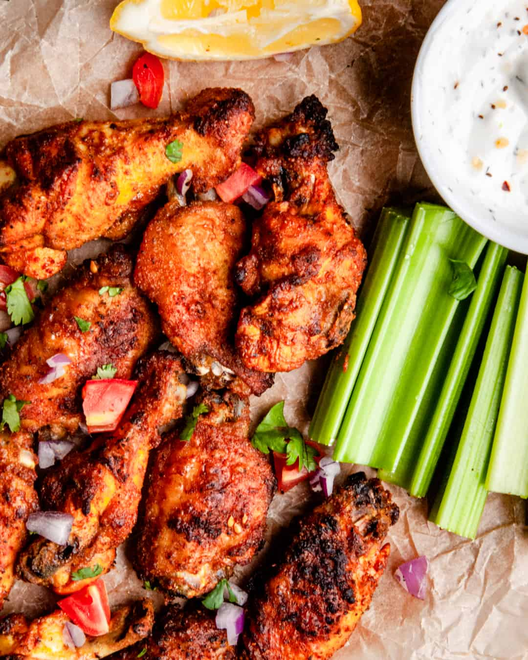 Shawarma-Spiced Chicken Wings