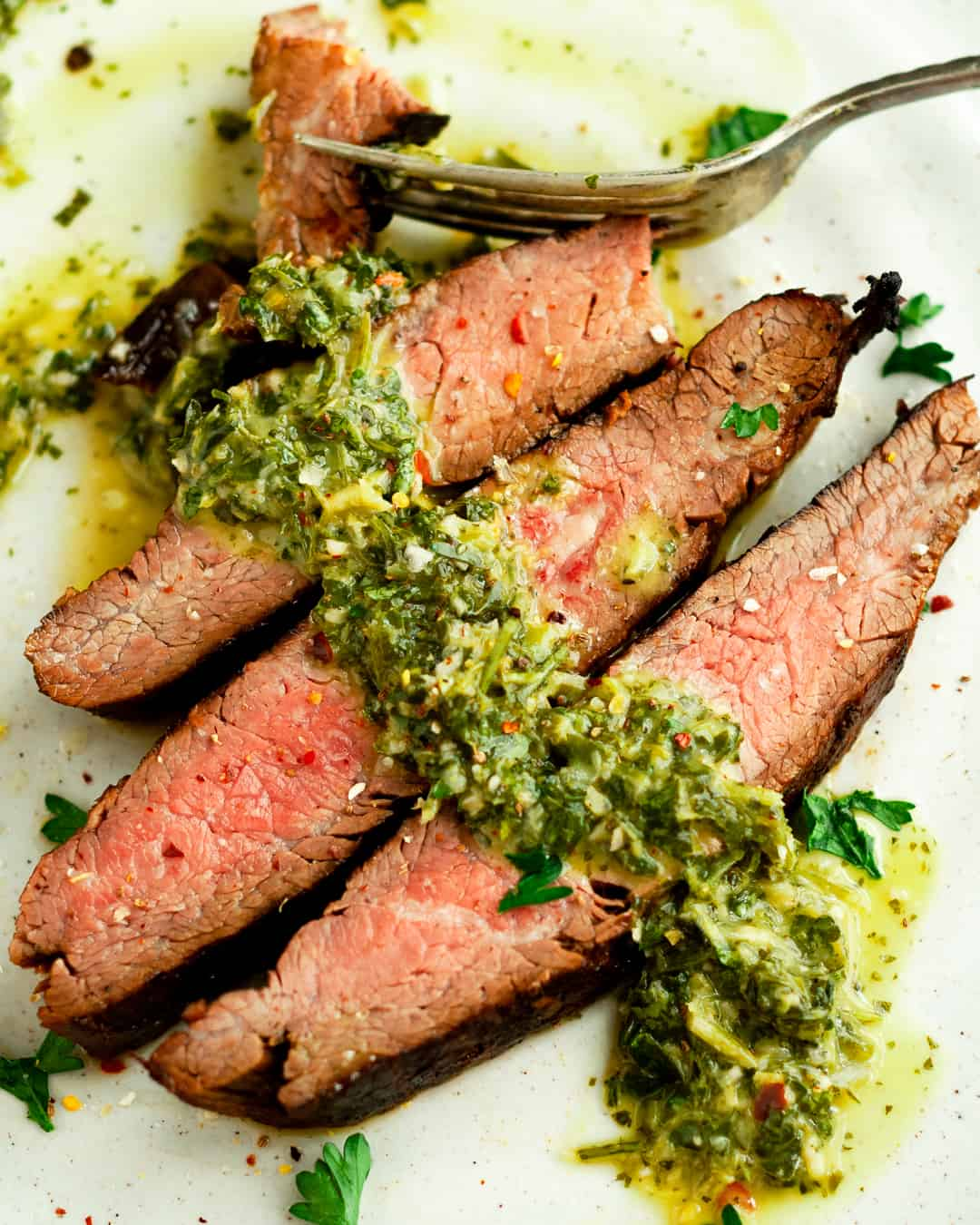 cast-iron flank steak