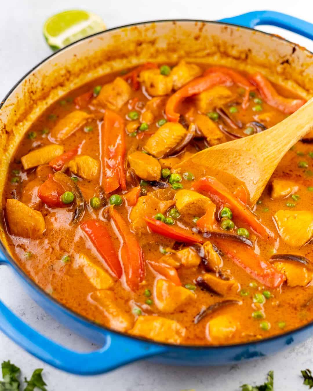 Easy Coconut Chicken Curry