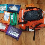 Medical Supplies Backpack.