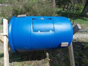 compost barrel handles