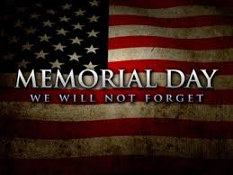 memorial day we will not forget