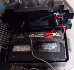 battery and box