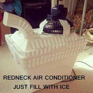 red neck airconditioner