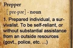 prepper defined