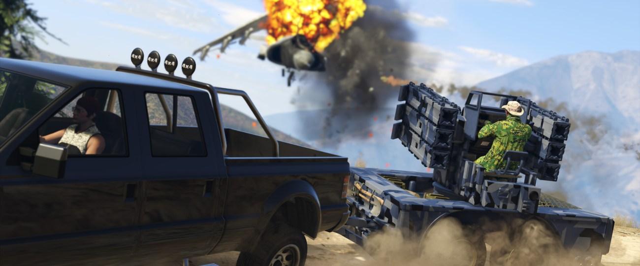 Grand Theft Auto 5 Online : Gunrunning
