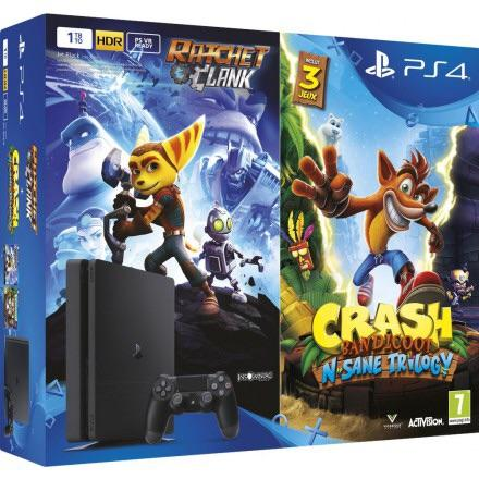 PS4 Rachet & Clank and Crash Bandicoot Bundle Leaked