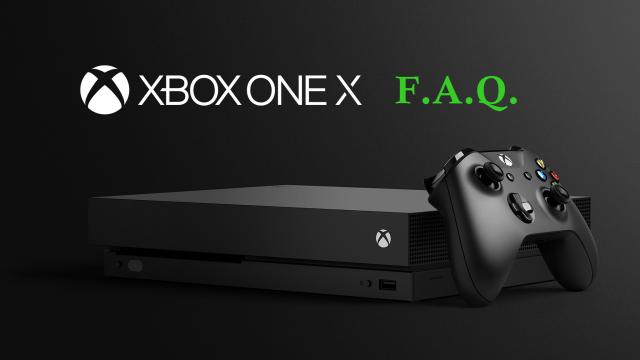 Xbox One X FAQ