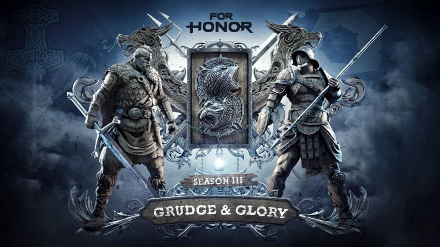 For Honor : Season 3 Brings Heroes, Maps, Gear, and a Ranked Mode