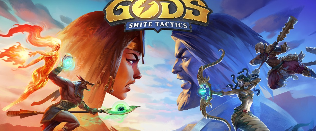 Hand of the Gods : Smite Tactics Coming to Xbox One and PlayStation 4