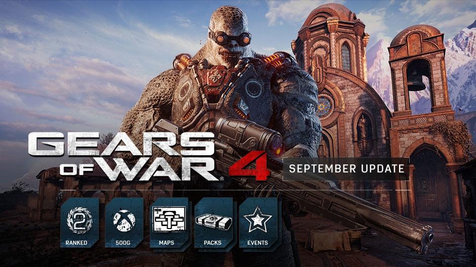 Gears of War 4 : September Update Details
