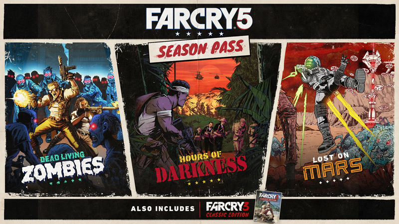 Far Cry 5 : Season Pass and Post-Launch Details