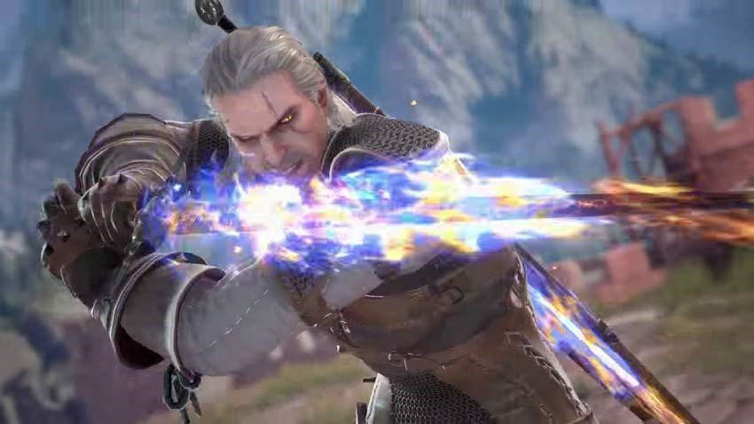 Geralt of Rivia Joins Soul Calibur 6's Roster