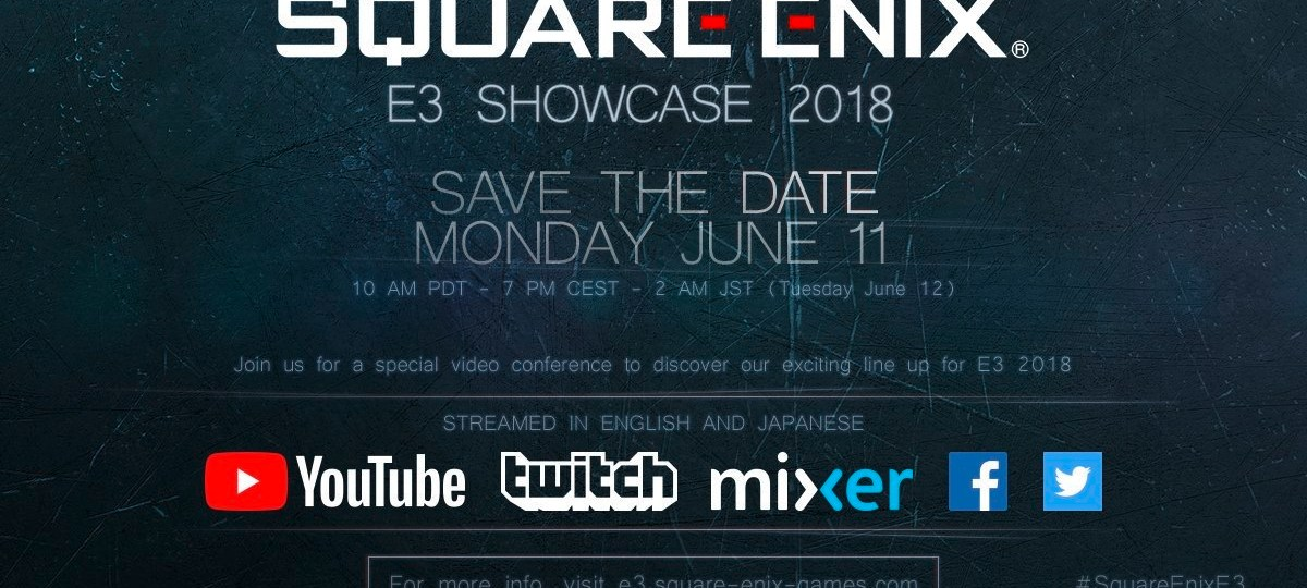 Square Enix Announces E3 Showcase Event