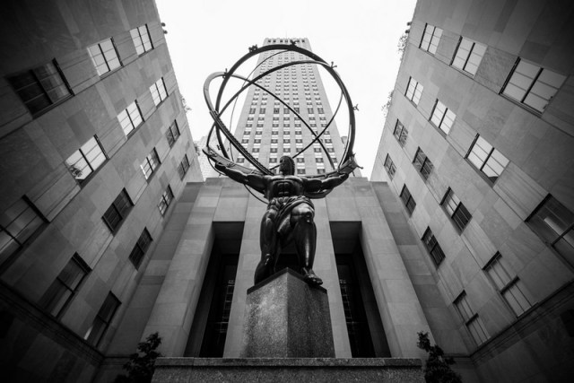 Atlas Statue, New York