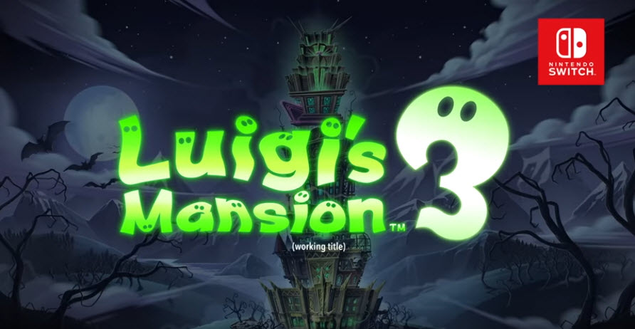 Luigi's Mansion 3 Announced