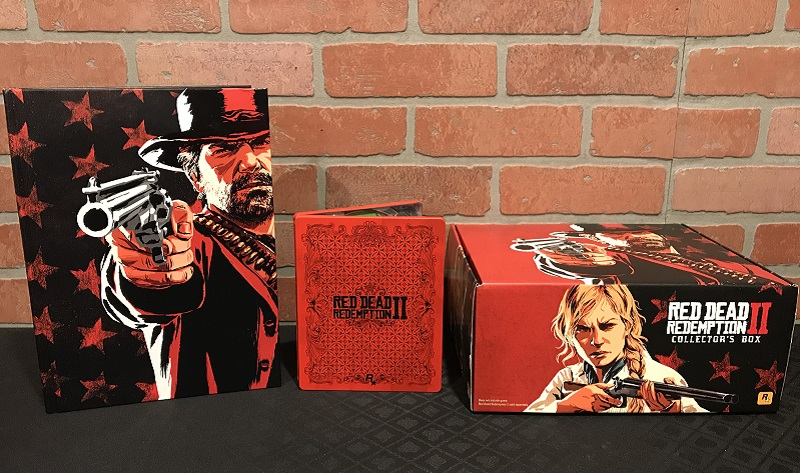 Unboxing : Red Dead Redemption 2 Physical Collector's Items