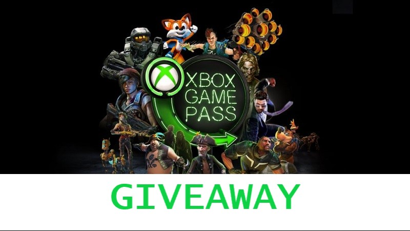 GIVEAWAY : 6 Months of Xbox Game Pass