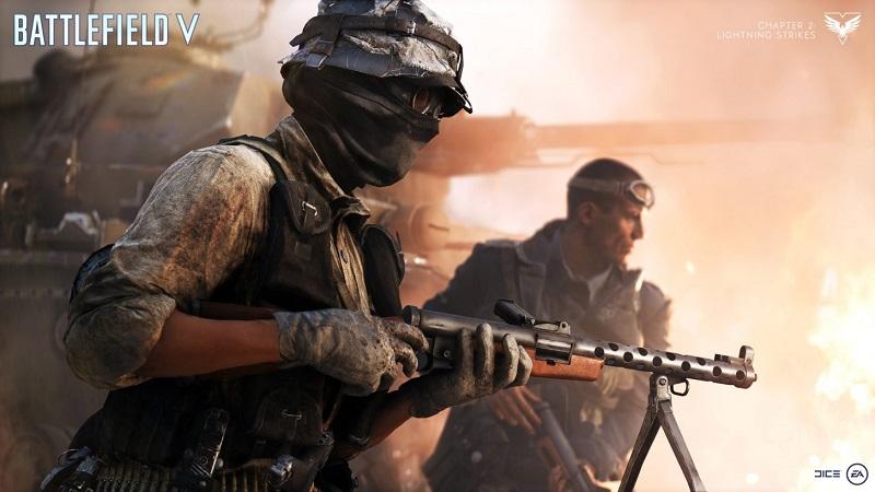 Battlefield V : Lightning Strikes Update Lands this Week