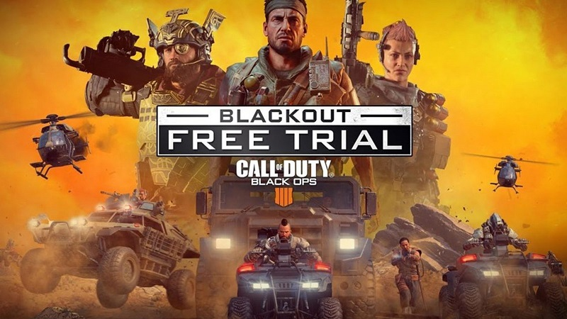 Call of Duty Black Ops 4 : Blackout Free Trial Incoming