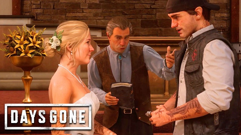 Days Gone : Sarah & Deacon's Wedding