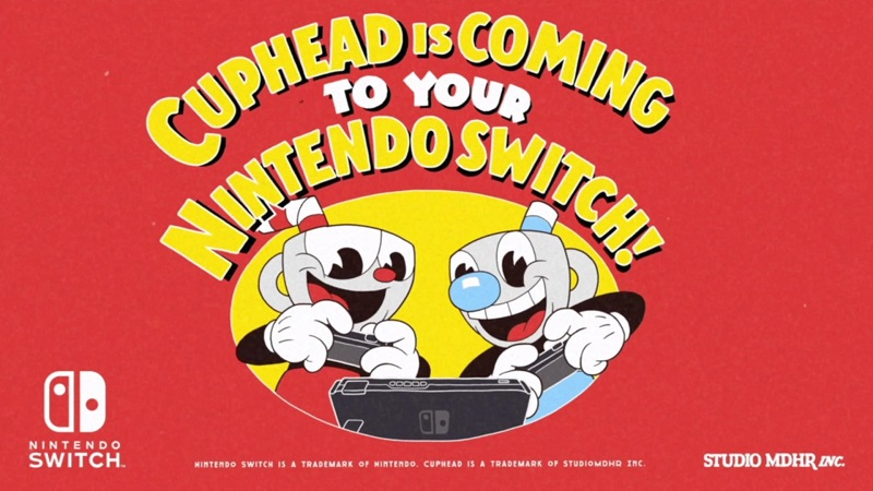 Cuphead Confirmed for the Nintendo Switch, Arriving in April