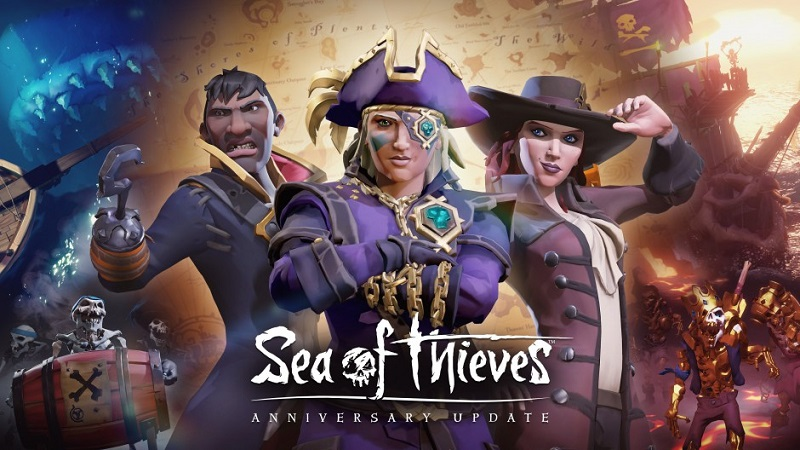Sea of Thieves : Everything Coming in the Anniversary Update