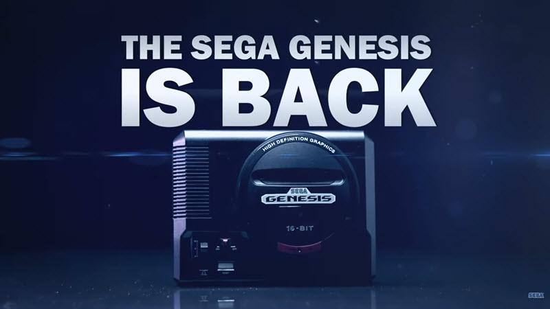 Sega Genesis Mini Showcase Trailer