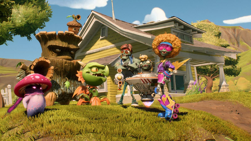 Plants vs. Zombies Battle for Neighborville : Developer Overview Trailer and Founder Edition Purchase Details