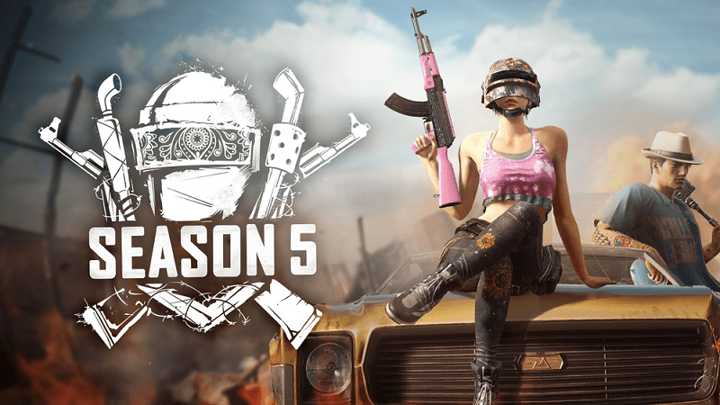 PUBG : Console Update 5.1 and Season 5 Now Live : Full Patch Notes