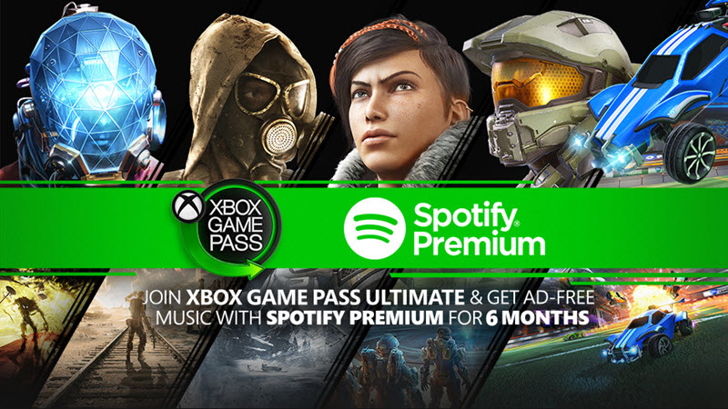 Free Spotify for 6 months with Gamepass Ultimate for new subscribers