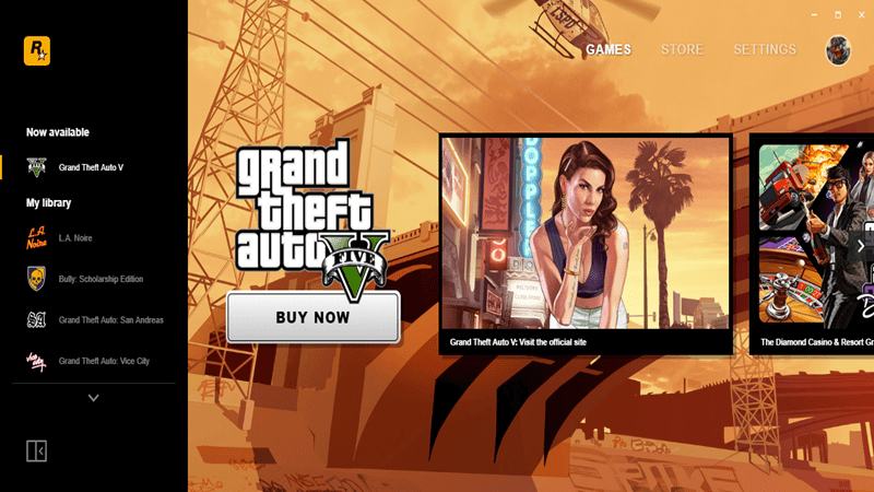 Rockstar Games Launcher now available and includes a free copy of GTA : San Andreas