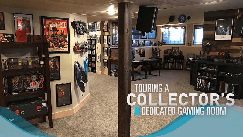 SG Special : A Tour of a Game Collector's Dedicated Gaming Room